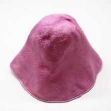 Bubblegum Pink Stiffened Visca Straw Milliner's Hood or Cone